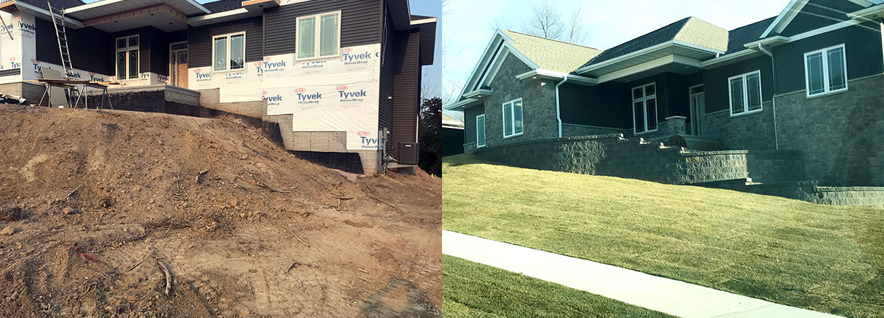 Hardscape Country Club Lawn Amp Landscape Marion Ia