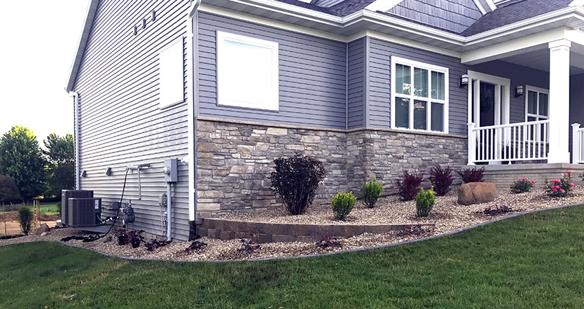 landscape country club lawn care marion iowa landscaping design
